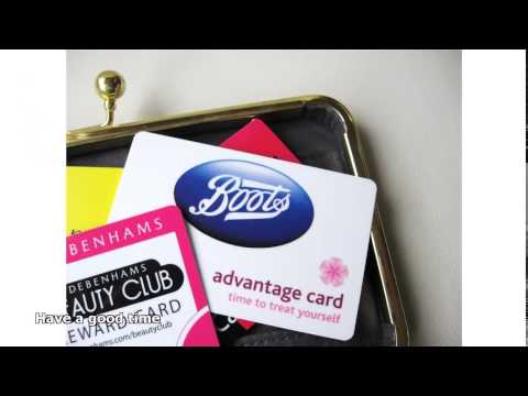 Boots Advantage Card