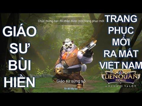 Trang phục mới ra mắt Việt Nam: ZUKA Giáo sư Sừng Sỏ Troll game MAX TANK [ Mua và Test ]