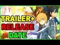 SAO Season 3 TRAILER & Release Date CONFIRMED! Sword Art Online Season 3 2018 Alicization Arc