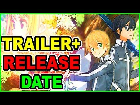 SAO Season 3 TRAILER & Release Date CONFIRMED! Sword Art Online