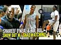 Bol Bol & Shareef O'Neal DOMINATE In front of SHAQ!!! Cal Supreme vs Meanstreets!