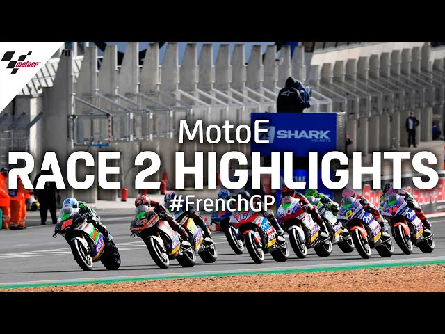 MotoE Race 2 Highlights | 2020 #FrenchGP