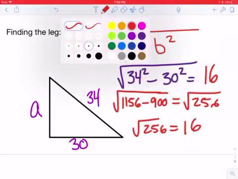 Pythagorean Theorem Calculator Trick Youtube