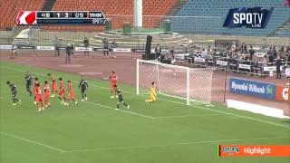 2015 K리그 챌린지 9R 강원FC vs 서울이랜드FC 하이라이트