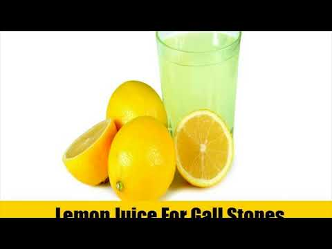 Lemon Juice For Gallstones- Home Remedy To Get Rid Of Gallstones