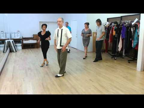 Salsa class warm up