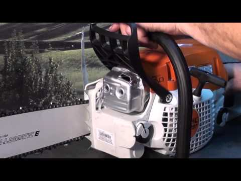 The chainsaw guy shop talk Stihl MS 291 chainsaw test muffler - YouTube