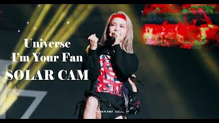 Download lagu 191114 reality in BLACK FAN SHOWCASE Universe+I'm Your Fan 솔라직캠[4k]