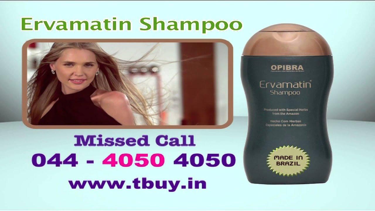 Ervamatin Shampoo Revised 10 Sec