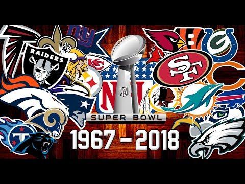 NFL All Super Bowl Winners 1967-2018