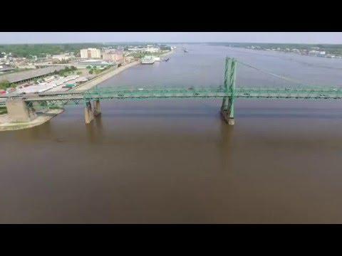 I74 Bridge In The Quad Cities (Drone)