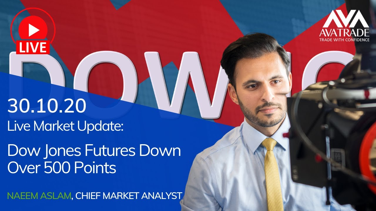 Dow Jones Futures Down Over 500 Points Youtube