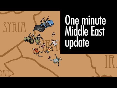 One minute Middle East update