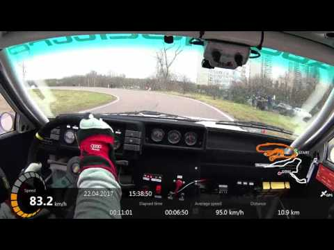 Moscow Rally Masters Show 2017 PS2 Audi Quattro A2 onboard