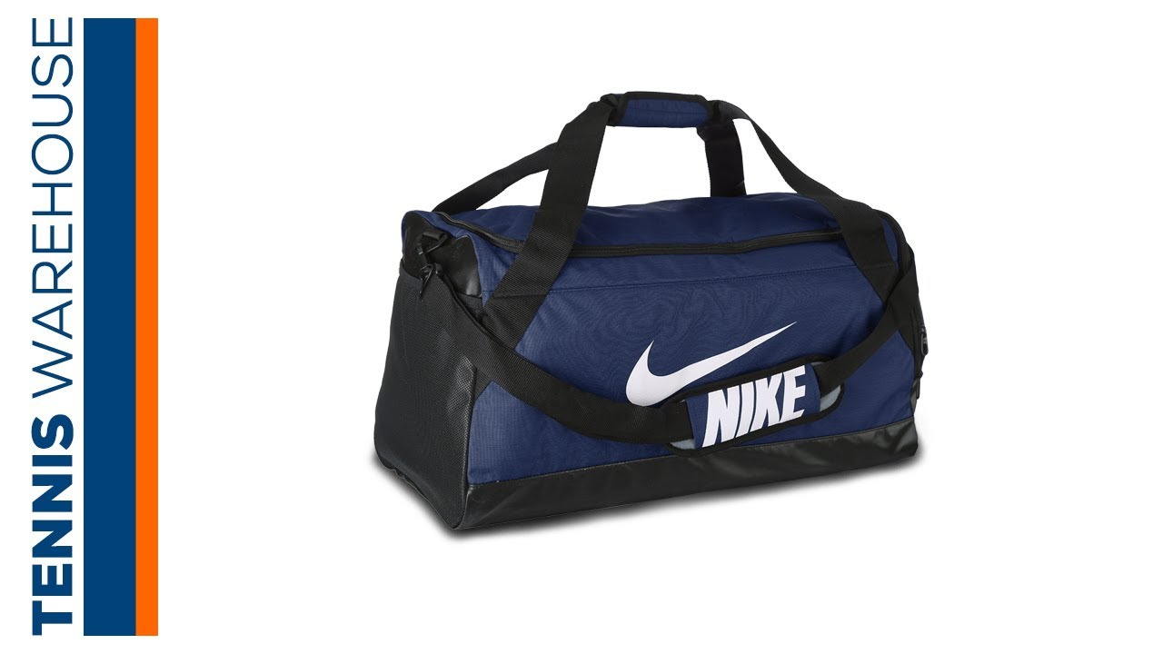 Nike Brasilia Medium Duffel Bag - YouTube 256e313efd7de
