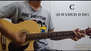 Tere Do Naina (Ankit Tiwari) - Guitar Chords Lesson+Cover, Strumming Pattern, Progressions