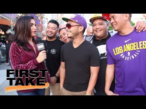 Molly Qerim searches for real First Take fans in L.A.   First Take   ESPN