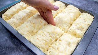 Почему я раньше не знала этого рецепта Картофельный ХЛЕБ в виде маленьких БУЛОЧЕК POTATO BREAD