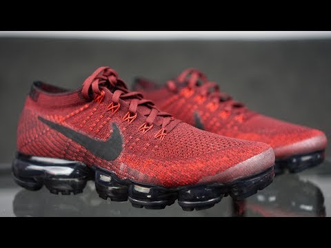 43bfec27ad04 NIKE VAPORMAX TEAM RED REVIEW!! + ON FEET!! ARE YOU PART OF TEAM RED  Here  is my review of the Nike Vapormax in the Team red Colourway!