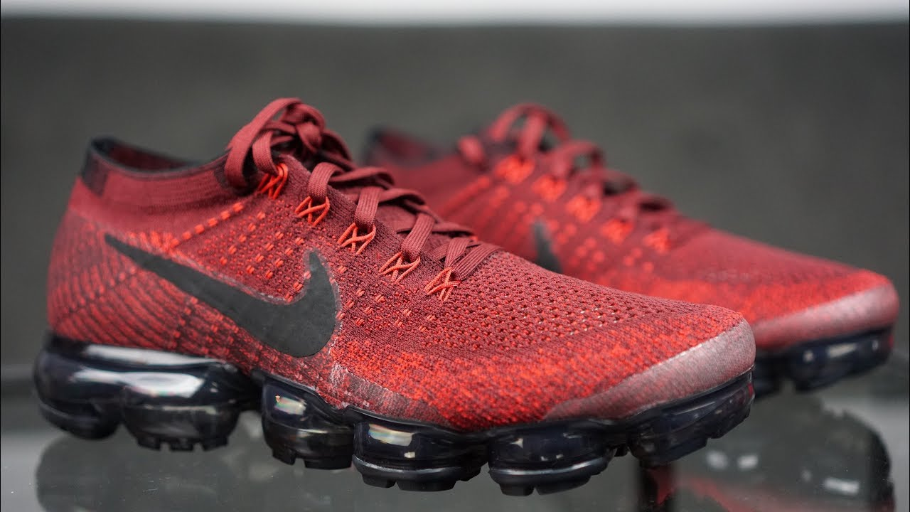 ea0ba598eff9 NIKE VAPORMAX TEAM RED REVIEW!! + ON FEET!! ARE YOU PART OF TEAM RED ...