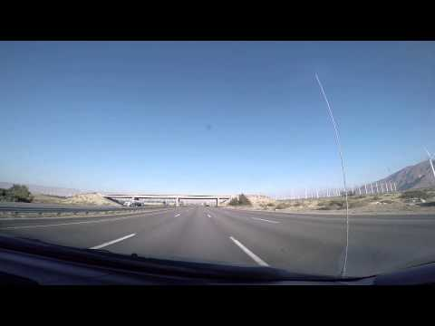 [Slow TV] I-10 Cabazon to Palm Desert through the Windmill Farm
