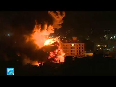 الصور الأولى للغارات الإسرائيلية على قطاع غزة  - نشر قبل 4 ساعة