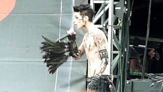 Black Veil Brides - Rebel Love Song (Live - Download Festival, Donington, UK, June 2012)