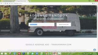 How to check the domain has been Sandbox Adsense or not