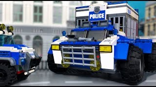 Lego Police Cross-Country Vehicle | OFF Road Monster 💰 Arrest of Robbers