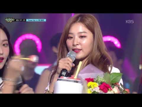 [뮤직뱅크] 8월 3주 1위 레드벨벳 (Red Velvet) - Power Up 세리머니 Cut 20180820