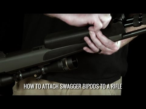 How To Attach Swagger Bipods To A Rifle