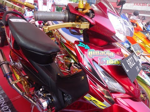 Modifikasi Harian Honda Revo 100 CC Thailook Style