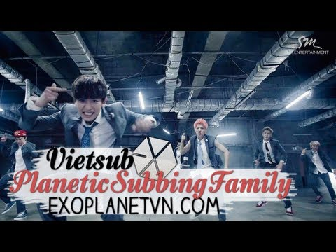 [Vietsub][MV] EXO - Growl (Korean version) [ EXOPLANETVN.COM ]