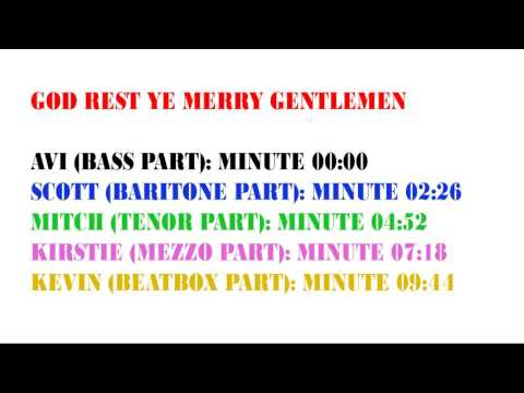 God Rest Ye Merry Gentlemen by Pentatonix - Single Parts Cover
