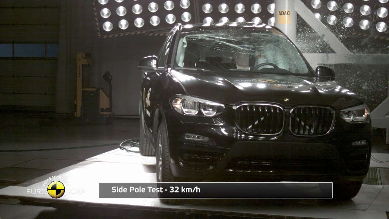 Euro NCAP Crash Test of BMW X3