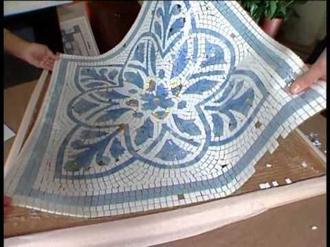 видео: Столик с мозаикой от Нелли Котовой и Юлии Бурановой