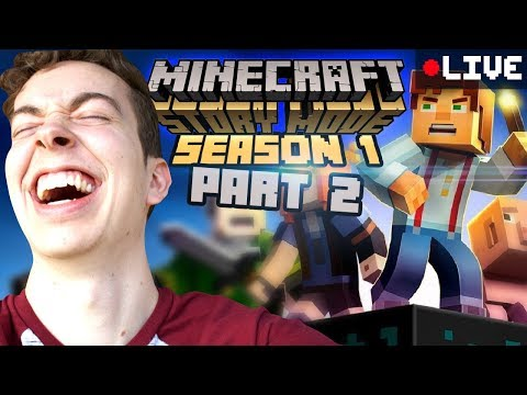 Okay This Is Awesome. | Minecraft Story Mode Season 1 #2