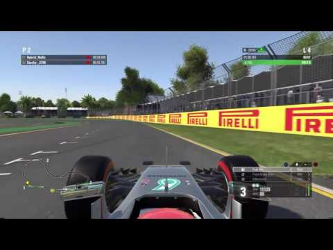 F1 2016 Australia Soft/Super Soft Comparison Hotlaps