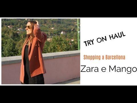 Try on HAUL autunno 2017 Zara e Mango a Barcellona
