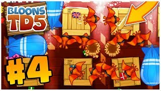 THIS NEW TOWER IS AWESOME!! | Bloons Tower Defense | BTD 5 Gameplay Part 4