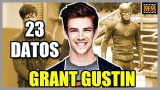 "23 Curiosidades sobre ""Grant Gustin"" - (The Flash - Glee) - |Master Movies|"