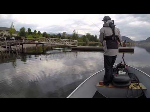Bass Fishing In Osoyoos BC Canada