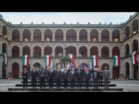 Celac 2021 México, desde Palacio Nacional.