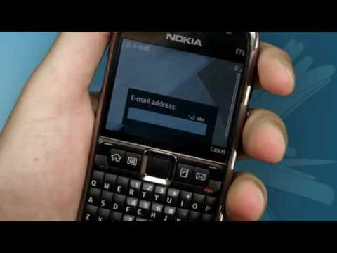 nokia e71 how to setup your email youtube rh youtube com Nokia N95 Nokia N8