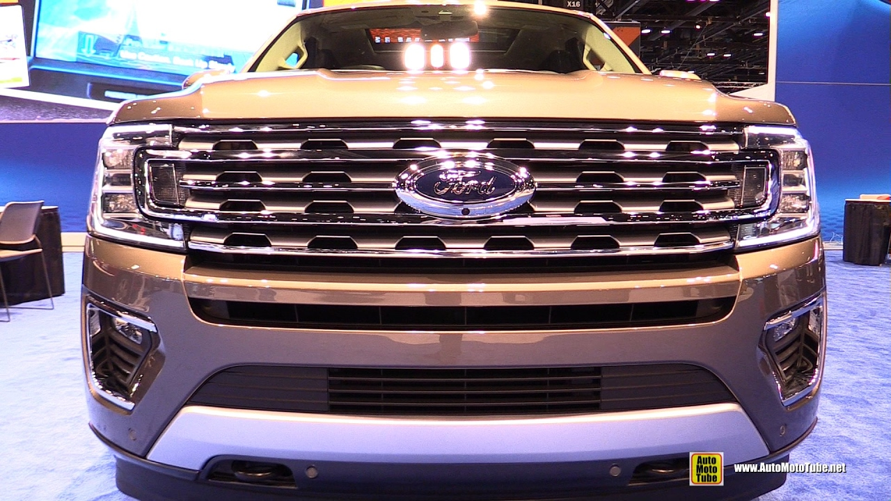 2018 Ford Expedition   Exterior And Interior Walkaround   Debut At 2017  Chicago Auto Show   YouTube