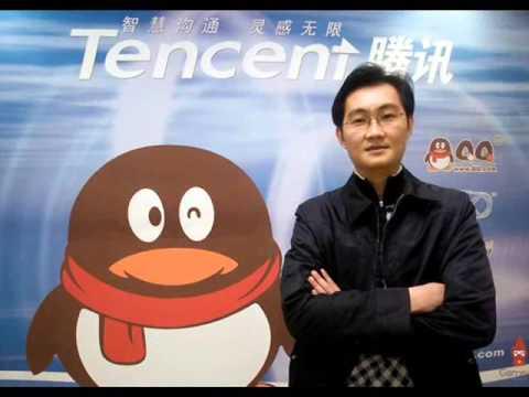 Ma Hua Teng, boss Tencent (gambar dari: YouTube)