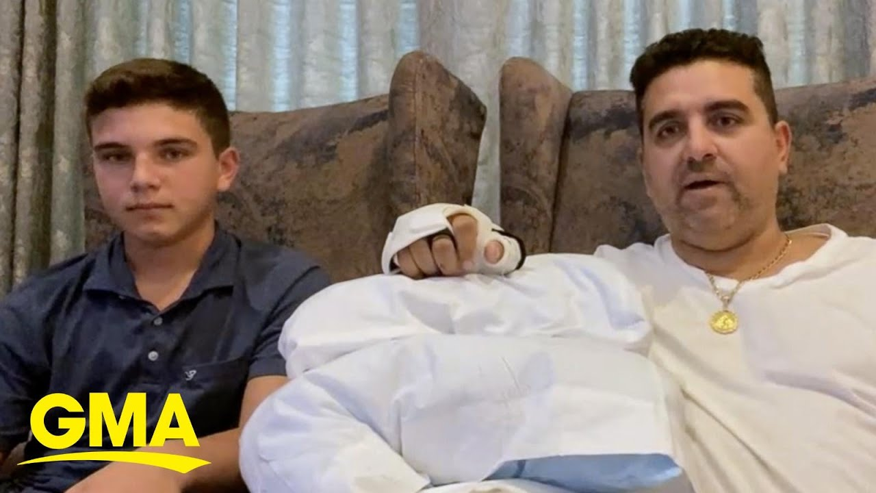Download 'Cake Boss' talks about his horrible accident