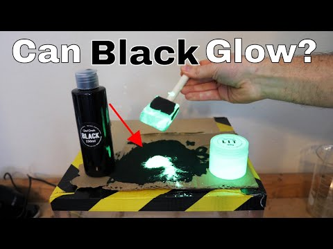 Mixing the World's Blackest Paint With the World's Brightest Paint (Black 2.0 vs LIT)
