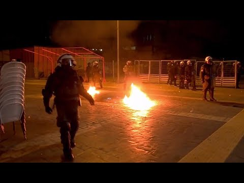 В Греции демонстранты