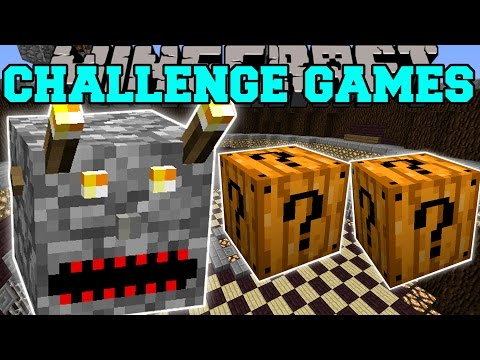 Minecraft: EVIL BLOCK CHALLENGE GAMES - Lucky Block Mod - Modded Mini-Game